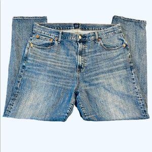Gap High Rise Best Girlfriend Blue Jeans Size 33
